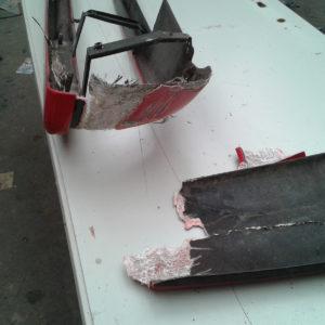 Réparation parchoc Ferrari